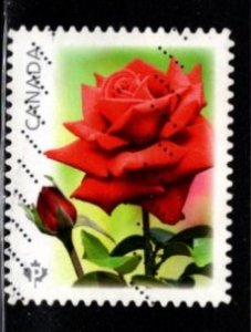 Canada - #2730 Red Roses Booklet   - Used