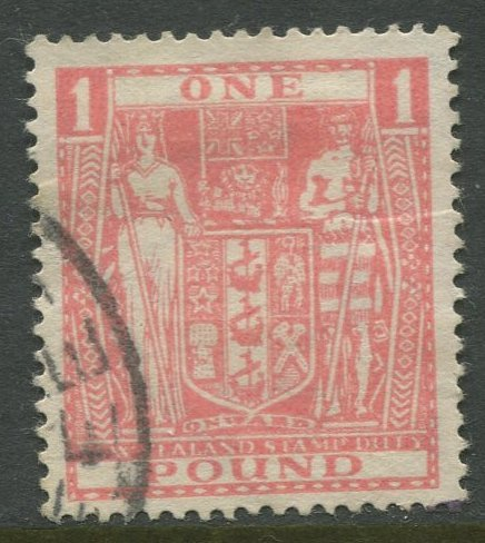 STAMP STATION PERTH New Zealand #AR86 Postal Fiscal Issue  Used 1940 CV$9.00