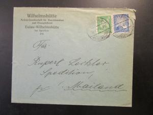 Germany 1926 Commercial Cover w/ 20c Rhineland Issue - Z6539