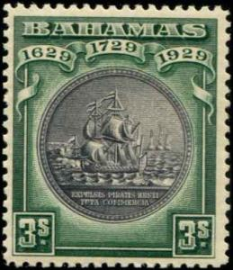 Bahamas SC# 89 SG# 130 Colony Seal 3shillings MH