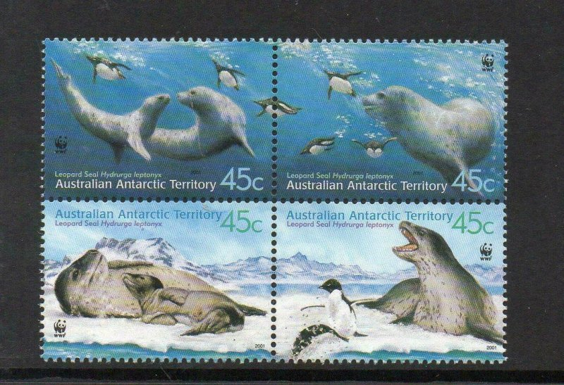 2003   A.A T  -  LEOPARD SEAL - WWF - SG: 152/155 - UNMOUNTED MINT