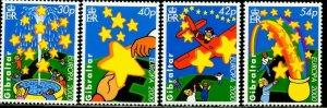GIBRALTAR Sc#837-840 2000 Europa Complete Set OG Mint NH