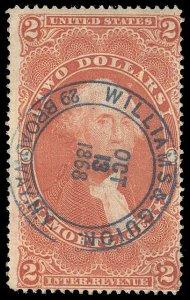 U.S. REV. FIRST ISSUE R82c  Used (ID # 95211)