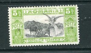 Romania 1906 Overprint SE INVERTED ERROR RARE  Mi 197 MH 6117