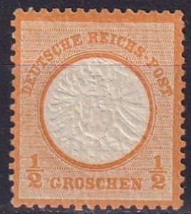 Germany #16 F-VF Unused CV $35.00 (Z7796)