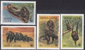 Sierra Leone #586-9  MNH CV $16.25 (A18452)