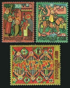 Norway 794-796,MNH.Michel 850-852. Tapestries 17th-18th cent.1981.