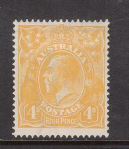 Australia #31a Mint Fine Original Gum Hinged