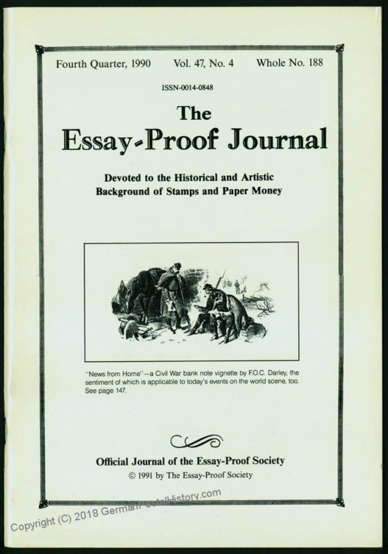 Essay-Proof Journal No188 Panama Civil War Vignettes Czech 44688