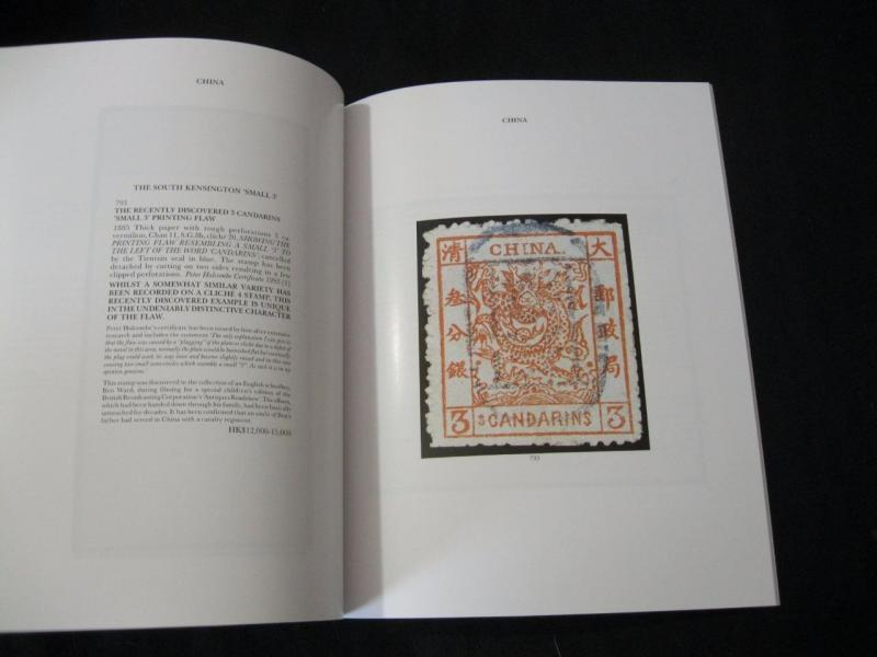 SOTHEBYS AUCTION CATALOGUE 1994 POSTAGE STAMPS OF THE FAR EAST