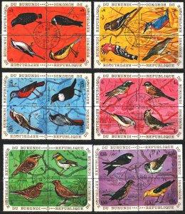 Burundi. 1970. 621-56. Birds, fauna. USED.