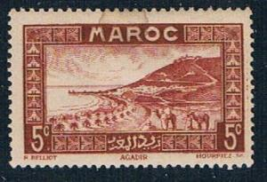 French Morocco 127 MLH Roadstead at Agadir 1933 (F0128)+