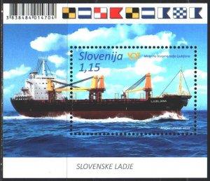 Slovenia. 2018. bl 107. Ship. MNH.