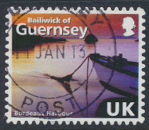 Guernsey Channel Islands SG 1237 Used Bordeaux Harbour 1989 SC# 997f See scan