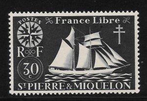 Saint Pierre and Miquelon Mint Never Hinged [4129]