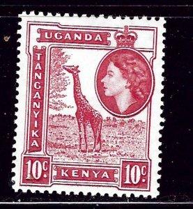 Kenya UT 104 MH 1954 Giraffe