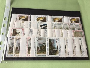 Republic D'Haiti mint never hinged Birds Stamps Sets  Ref 51498