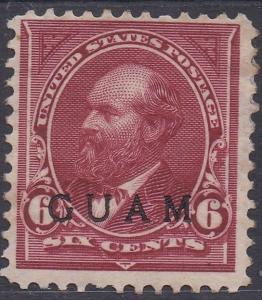GUAM 1899 GARFIELD 6C