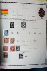 Spain Giant Mint & Used 1800s to 1990s High Opportunity Stamp Collection