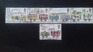 Great Britain 1980 The 150th Anniversary of the Liverpool-Manchester RailroaUsed
