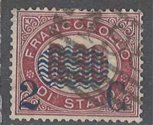 COLLECTION LOT # 2387 ITALY #40 1878 CV=$12.50