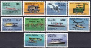 Barbuda #867-76 MNH CV $85.75 (A18948)