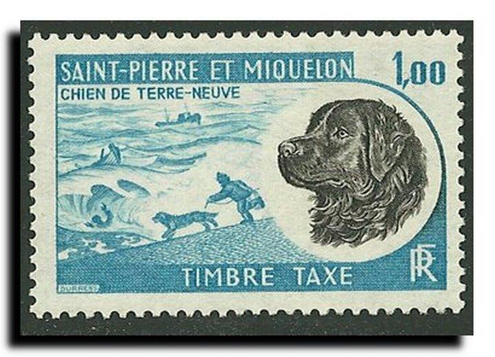 St.Pierre and Miquelon-Postage Dues Scott #J82