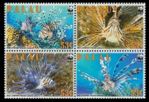 Palau MNH Block 992 Red Lionfish WWF 2009