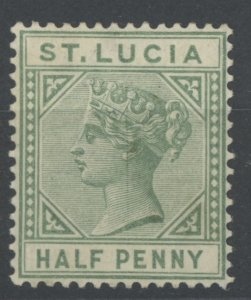 St. Lucia 27 * mint hinged (2107 129)