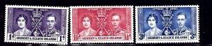 Gilbert and Ellice MH 1937 KGVI Coronation    (ap1200)