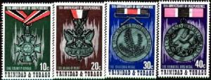 Medals 11th Independence, Triniada & Tobago SC#235-8 MNH set