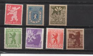 Germany - Russian occupation 11N1-11N7 MNH/MH