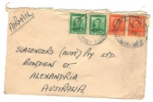 New Zealand Sc#227A,258 Pairs on Cover - Military Camp Cancel