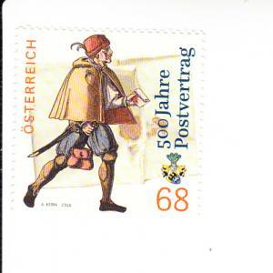 2016 Austria Postal Treaty (Scott 2606) MNH