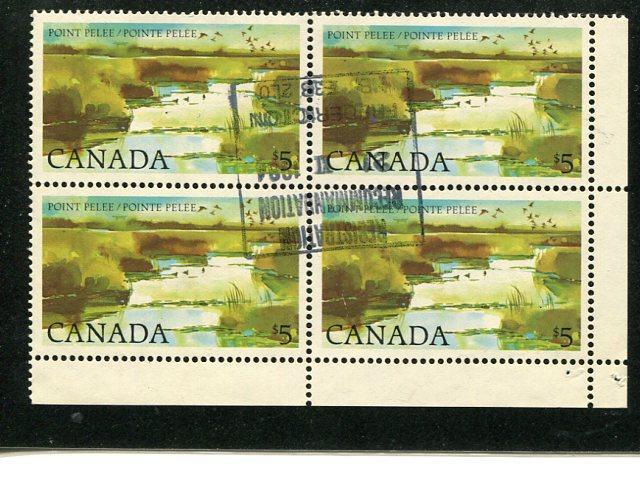 Canada  #937  Used  Block 4  VF