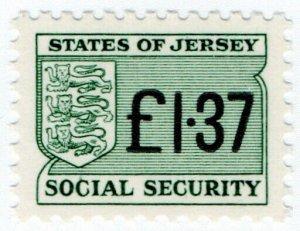 (I.B) Jersey Revenue : Social Security £1.37