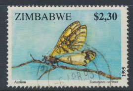 Zimbabwe SG 907  SC# 739 Used  Insects    see detail and scan