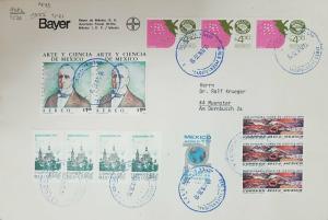 O) 1976 MEXICO, MEXICO EXPORTA STRAWBERRIES- FRUIT,  ART AND SCIENCE ALFREDO DUG