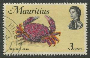 STAMP STATION PERTH Mauritius #340a Sea Life Issue FU 1972-1974