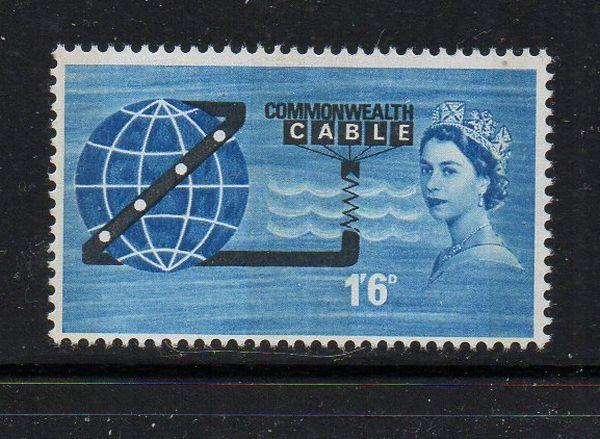 Great Britain Sc 401p 1963 Cable Phosphor stamp mint NH