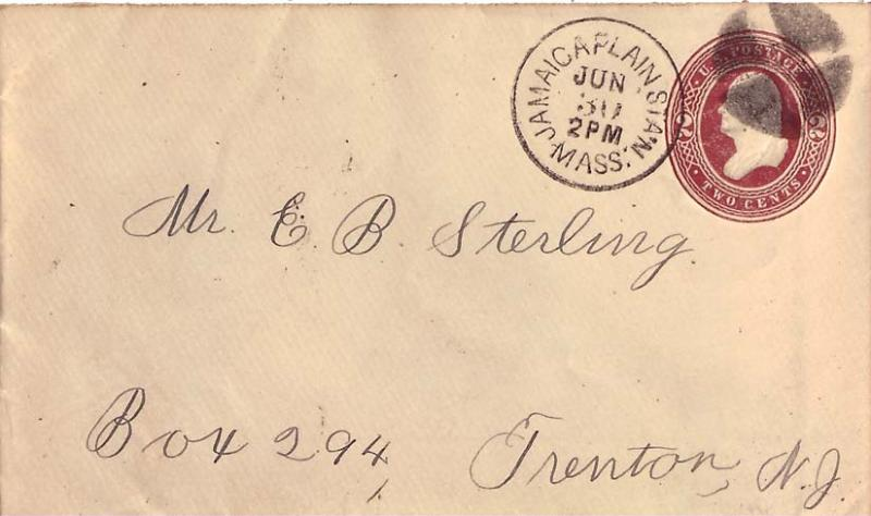 United States Massachusetts 1885 Postal History