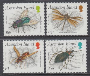 Ascension 459-462 Insects MNH VF