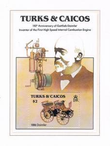TURKS CAICOS SHEET CLASSIC CARS