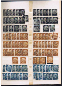 GERMANY PRESIDENT HINDENBURG STAMPS