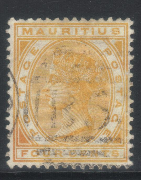 MAURITIUS 1883-1894 CROWN CA SG104 USED