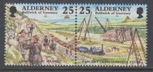 Alderney 109a MNH VF
