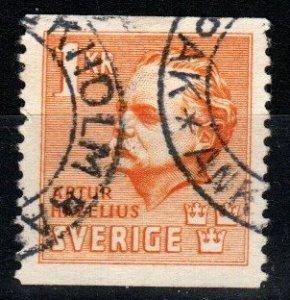 Sweden #325  F-VF Used CV $4.00 (X1085)