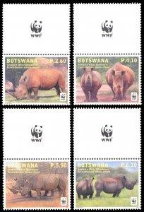 Botswana 2011 Scott #914-917 Mint Never Hinged