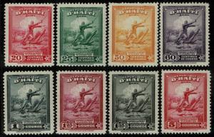 Haiti #C35-42  Unused - Col. Francois Capois (1946)