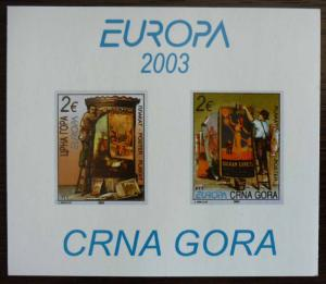 MONTENEGRO - BLOCK 2003 - MNH - PRIVATE ISSUE! crna gora yugoslavia J14